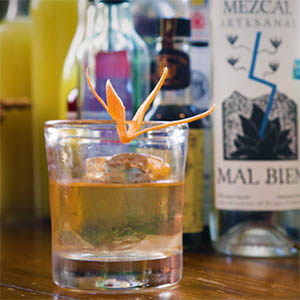 Mezcal Old Fashioned
